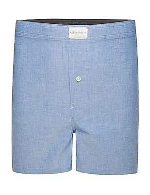 Aeropostale Patterned Weave Cotton Boxers