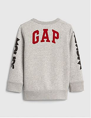GAP Baby Grey Disney Mickey Mouse Sweatshirt