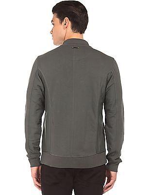 Ed Hardy Long Sleeve Panelled Sweat Jacket