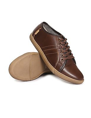 U.S. Polo Assn. Cap Toe Contrast Sole Sneakers