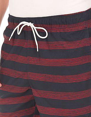 Nautica Striped Quick Dry Board Shorts