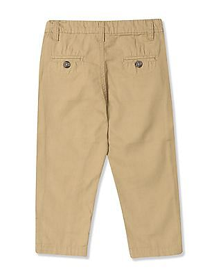 Donuts Boys Solid Panelled Trousers