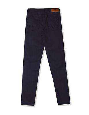 Cherokee Blue Boys Slim Fit Rinsed Jeans