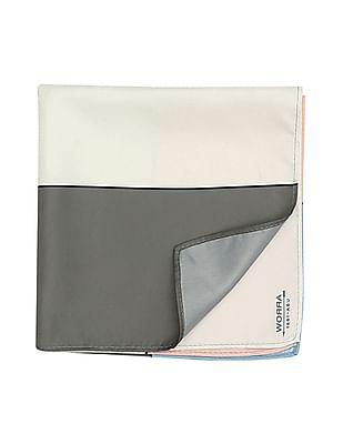 Arrow Colour Block Pocket Square