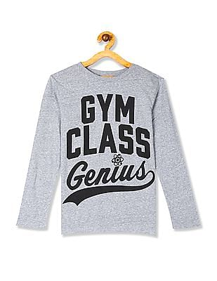 The Children's Place Boys 'Gym Class Genius' Graphic Tee