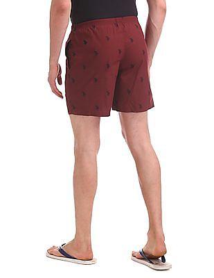 USPA Innerwear Regular Fit Printed Boxers