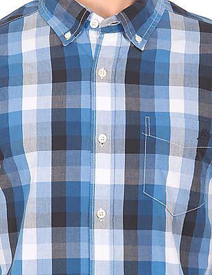Aeropostale Button Down Check Shirt