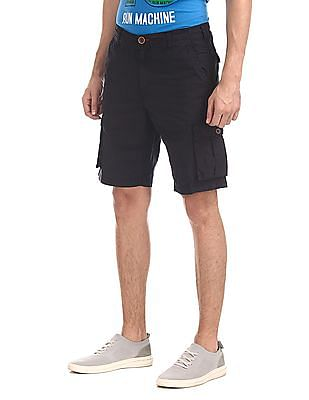 Cherokee Blue Slim Fit Cargo Shorts