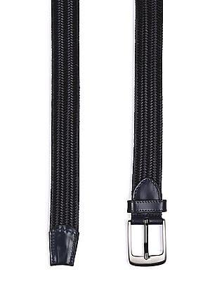 Arrow Sports Braided Leather Belt