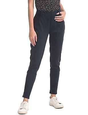 U.S. Polo Assn. Women Standard Fit Solid Jeggings