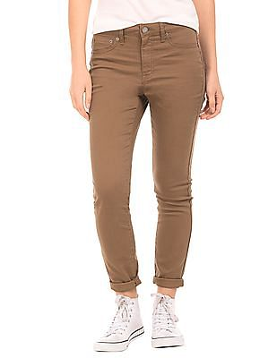Aeropostale High Rise Skinny Fit Jeggings
