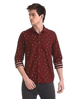 Cherokee Printed Reversible Shirt