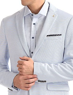 Arrow Slim Fit Patterned Blazer