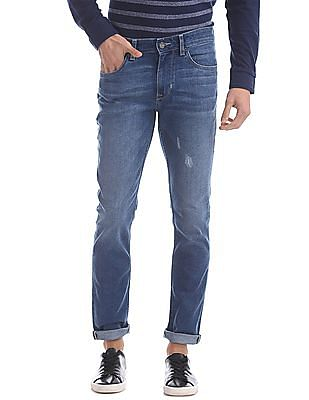 U.S. Polo Assn. Denim Co. Slim Fit Stone Wash Jeans