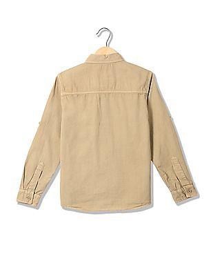 Cherokee Boys Cotton Long Sleeve Shirt