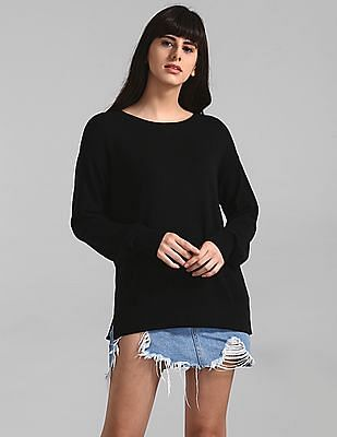 GAP Black Crew Neck Sweater