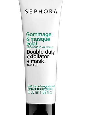 Sephora Collection Double Duty Exfoliator And Mask