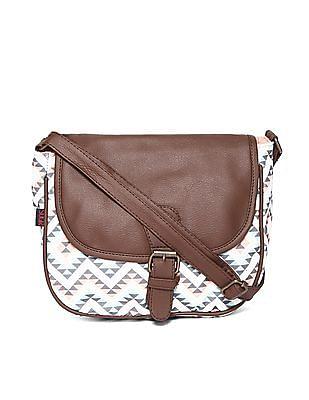 SUGR Printed Cotton Sling Bag