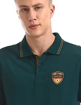Ruggers Long Sleeve Solid Polo Shirt