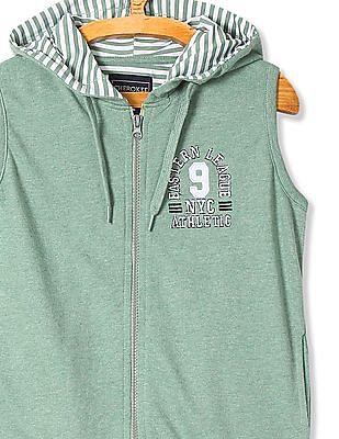 Cherokee Boys Hooded Sleeveless Sweatshirt