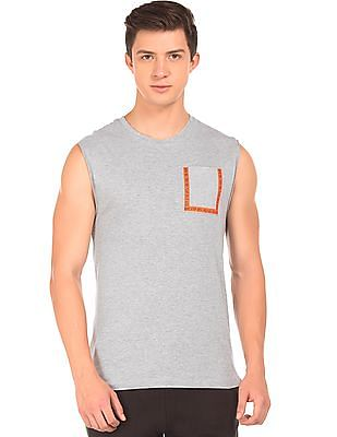 Colt Heathered Active Muscle T-Shirt