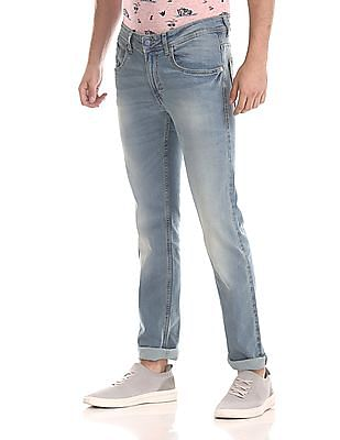 Flying Machine Jackson Skinny Fit Mid Rise Jeans