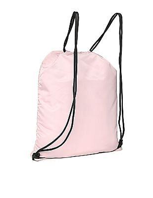 Aeropostale Solid Drawstring Backpack