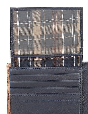 U.S. Polo Assn. Pebblegrain Bi-Fold Wallet