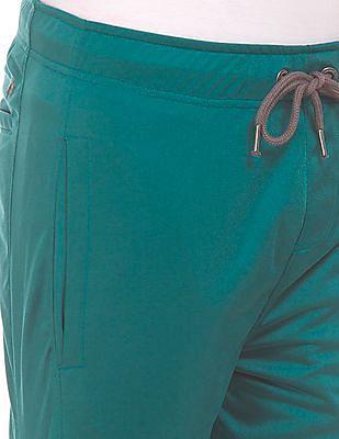 Aeropostale Drawstring Waist Contrast Trim Track Pants