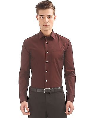 Arrow Two Tone Slim Fit Shirt