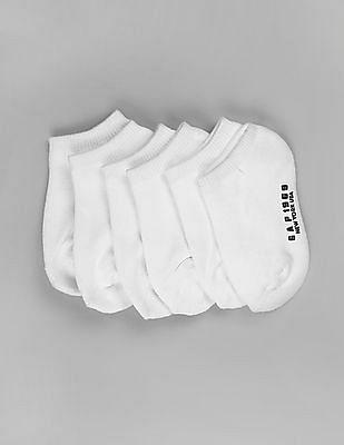 GAP Toddler Boy White CoolMax Ankle Socks (6-Pack)