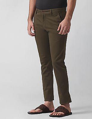 True Blue Slim Fit Twill Trousers
