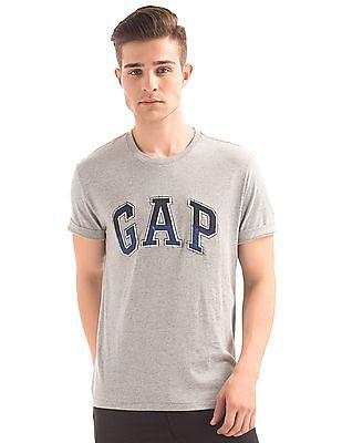 GAP Denim Logo Crew Neck T-Shirt