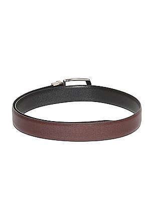 Excalibur Reversible Textured Leather Belt