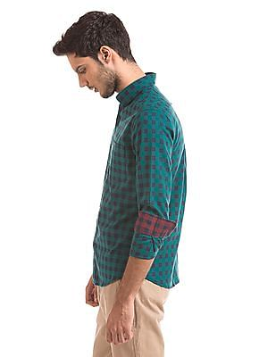 U.S. Polo Assn. Tailored Fit Flannel Shirt