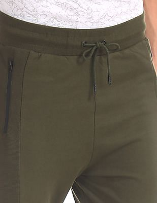 Colt Drawstring Waist Solid Joggers