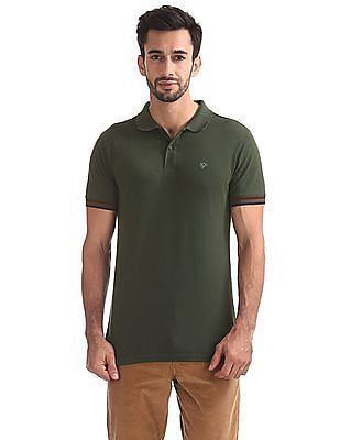 Ruggers Regular Fit Solid Polo Shirt