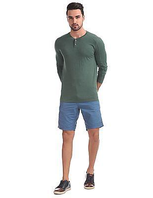 Cherokee Long Sleeves Henley T-Shirt
