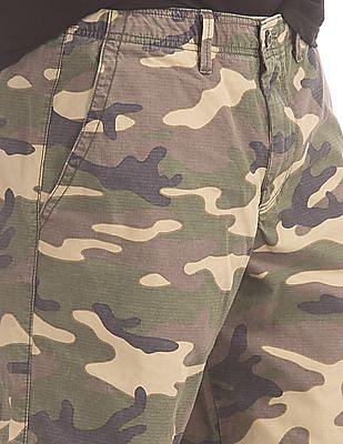 GAP Ripstop Camo Shorts