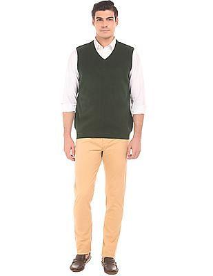 Ruggers V-Neck Sleeveless Sweater