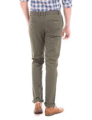 U.S. Polo Assn. Slim Fit Cotton Lycra Trousers