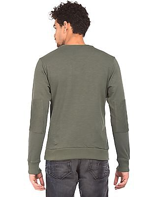 Flying Machine Crew Neck Slim Fit Sweatshirt