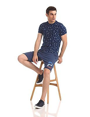 U.S. Polo Assn. Denim Co. Drawstring Waist Knit Shorts