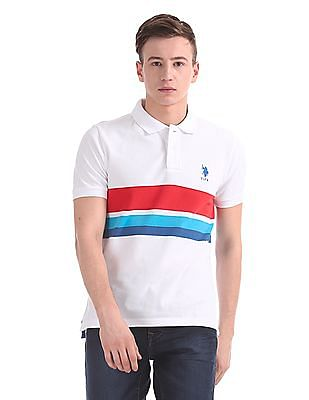 U.S. Polo Assn. Regular Fit Pique Polo Shirt