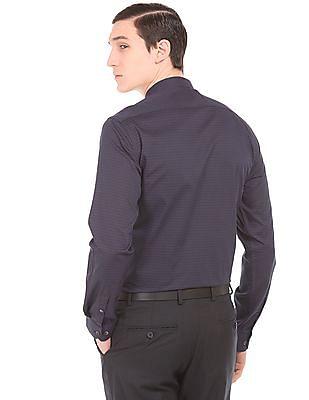 Arrow Newyork Printed Slim Fit Shirt