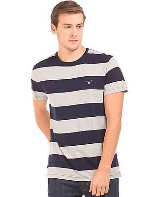 Gant Regular Fit Bar Striped T-Shirt