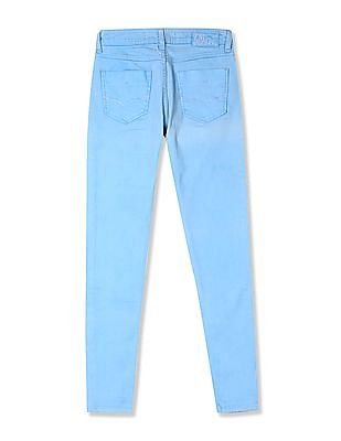 Flying Machine Women Norma Super Skinny Fit Mid Waist Jeans
