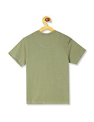 Cherokee Boys Crew Neck Graphic T-Shirt