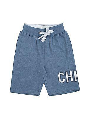 Cherokee Boys Heathered Drawstring Waist Shorts
