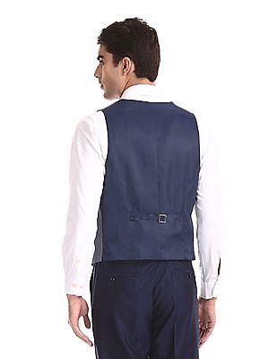 Arrow Patterned Three Piece Suit